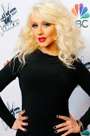 christina aguilera as a brunette on nashville celebrity beauty