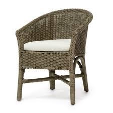 Wicker Bistro Chairs Palecek
