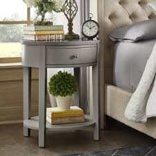 Living Room End Tables With Storage Grey End Side Tables You Ll Wayfair