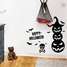 happy halloween wall sticker cheap shop fashion style with free