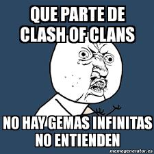 Memes En Espa Ol - memes de clash of clans imagenes chistosas
