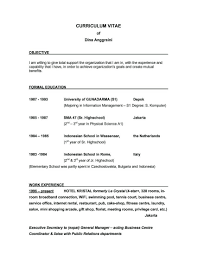 Videographer Resume Example by Examples Of Resumes Canadian Visa Resume Template Templates