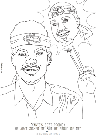 coloring book chance chance the rapper s coloring book inspired an actual coloring book