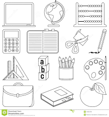 classroom objects coloring sheets coloring pages ideas