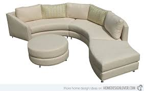 Curve Sofa Sofa Design Top Curved Sofas For Small Spaces Rounded Sofas