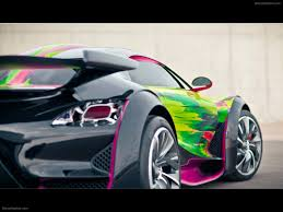 citroen supercar citroen survolt art concept car