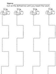 advanced scissor cutting line worksheet scissors worksheets and