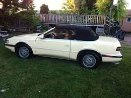maserati 4 door convertible rare rides a 1989 chrysler tc by maserati the lemon mixup