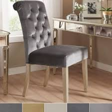 Silver Dining Chairs Silver Dining Room U0026 Kitchen Chairs Shop The Best Deals For Dec