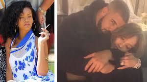 topless pictures of rihanna rihanna shades jennifer lopez over drake romance on twitter youtube