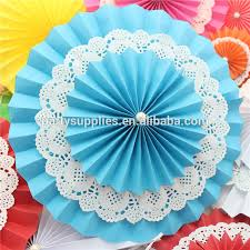 paper fan circle decorations paper fans diy wedding stage hall backgound decorations buy