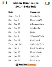best 25 hurricanes football schedule ideas on