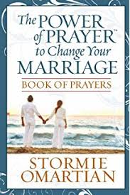 marriage prayers for couples a book of prayers for couples stormie omartian 9780736946698