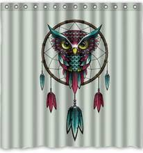 Owl Fabric Shower Curtain Popular Dreamcatcher Curtains Buy Cheap Dreamcatcher Curtains Lots
