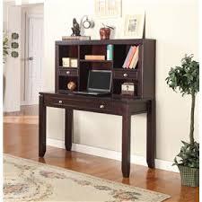 Small Desk With Hutch Parker House At Deskdealers Com Double Pedestal Desk Kneehole