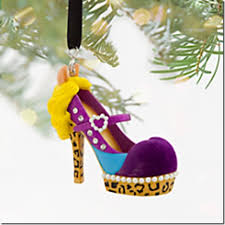 disney runway shoe ornaments fashion for your tree