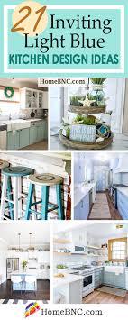 light blue kitchen walls cabinets 21 best light blue kitchen design and decor ideas for 2021