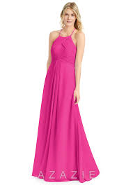 fuschia bridesmaid dress fuchsia bridesmaid dresses fuchsia gowns azazie