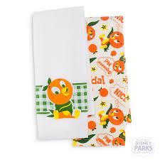 disney parks orange bird kitchen towel set ebay