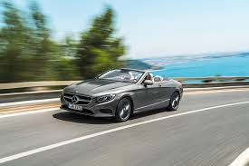 mercedes s class cabriolet mercedes drops the top on the s class