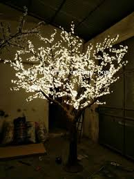 outdoor lighted cherry blossom tree outdoor artificial trees with lights