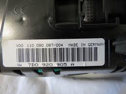 used volkswagen eurovan gauges for sale