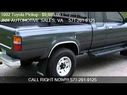 92 toyota tacoma for sale 1992 toyota sr5 2dr 4wd extended cab sb for sale in l