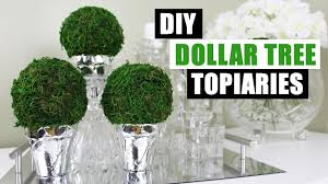 Lighted Topiary Trees Diy Dollar Tree Topiaries Dollar Store Diy Round Topiary Diy