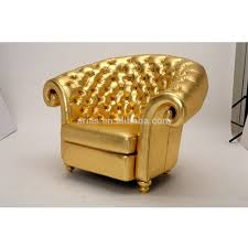 Leather Furniture Sofa Gold Sofa Gold Sofa Suppliers And Manufacturers At Alibaba Com