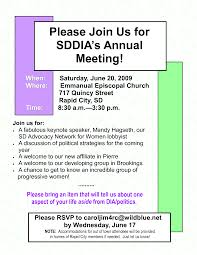 meeting invitation letter annual meeting invitation invitation