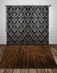Black Damask Wallpaper Home Decor by Online Get Cheap Black Damask Aliexpress Com Alibaba Group