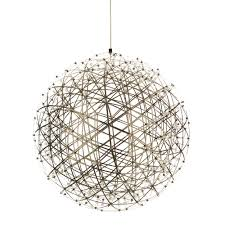 moooi raimond firework light stainless steel ball led pendant lamp