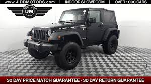 used 2008 jeep wrangler rubicon stock 4512a jidd motors des