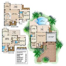 Floor Plan Com by Three Story House Plans With Photos Contemporary Luxury Mansions