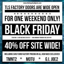 the loyal subjects black friday sale starts wednesday