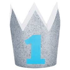1st birthday 1st birthday boy crown target