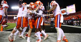 clemson beats the best and now the tigers are at the top