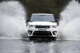 land rover water land rover range rover sport svr review 2015 parkers