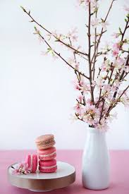 cherry blossom decor cherry blossom macarons for martha stewart weddings cannelle et
