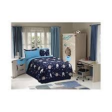 amazon com kids boys teen comforter bed set bedding navy blue
