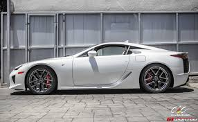 lexus sport v10 for sale pearl white lexus lfa via cec wheels gtspirit