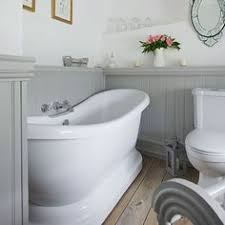 panelled bathroom ideas grey and white country bathroom with wall panels bathroom