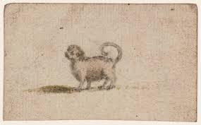sketch of a pug dog u0027 susanna duncombe née susanna highmore tate
