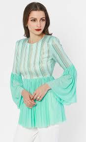 mint blouse liviosa blouse in mint green fashionvalet