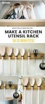 Kitchen Utensils Design by Make A Diy Utensil Hanging Rack In 10 Mins U2022 Grillo Designs