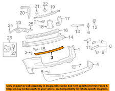 rear car u0026 truck bumpers for volkswagen touareg ebay