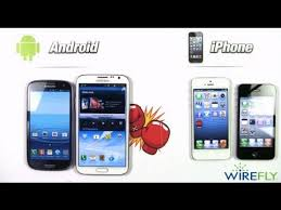 difference between iphone and android android smartphones vs apple iphone wirefly schmackdown