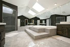 large bathroom designs 50 master bathrooms with skylights for 2018