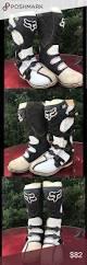 bike racing boots fox dirt bike racing boots size 10 dirt biking fox racing and