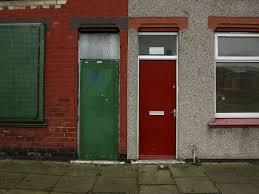 Red Door Red Doors Of Asylum Seeker Housing In Middlesbrough Repainted